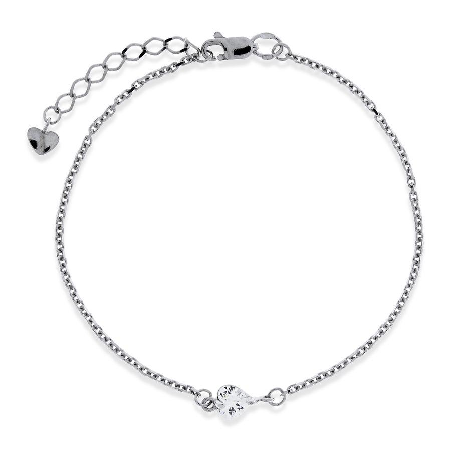 Подарить серебряный браслет