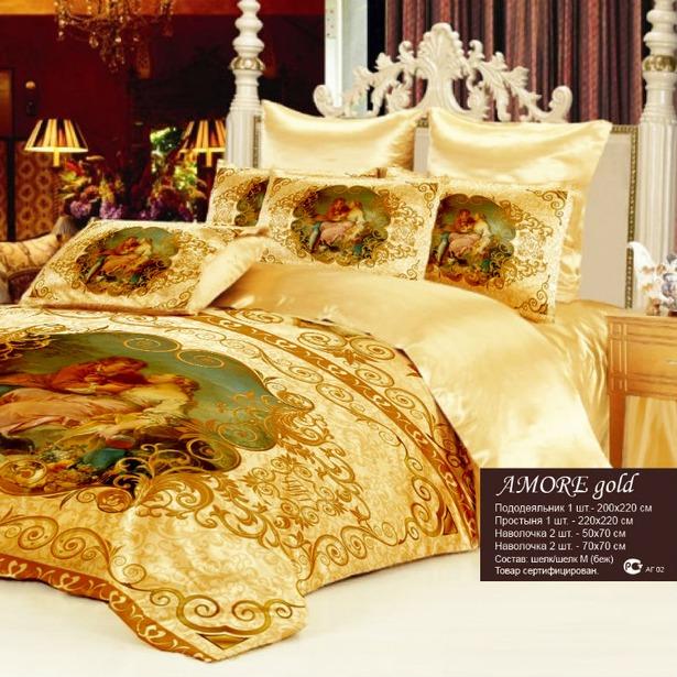 Шикарный комплект постельного белья