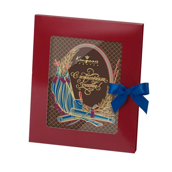 Шоколадная открытка подарить