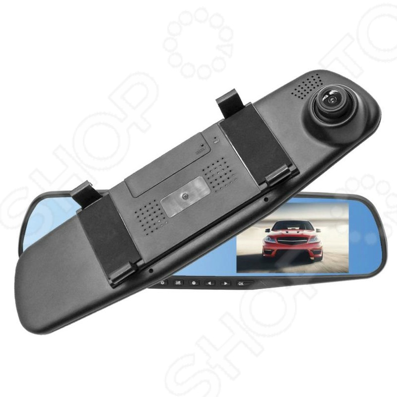 Зеркало заднего вида с видеорегистратором подарить