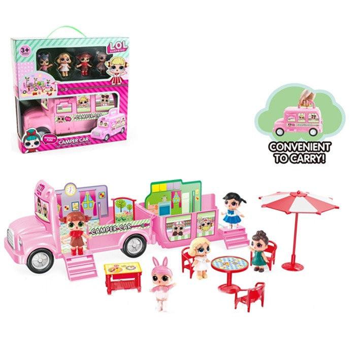 Игровой набор «Автобус для путешествий и 4 подружки» подарить