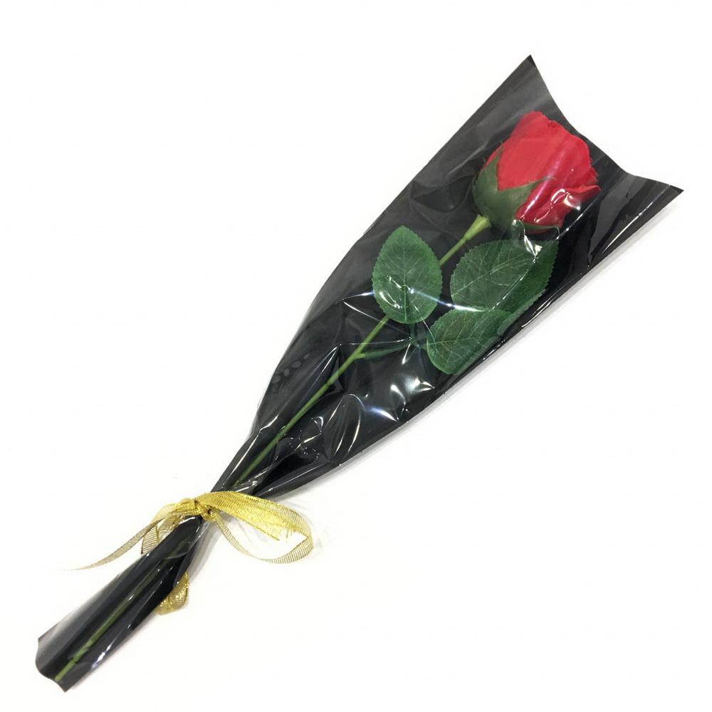 Роза из парфюмированного мыла