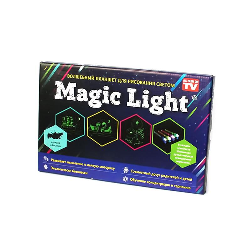 Волшебный планшет для рисования светом Magic Light подарить