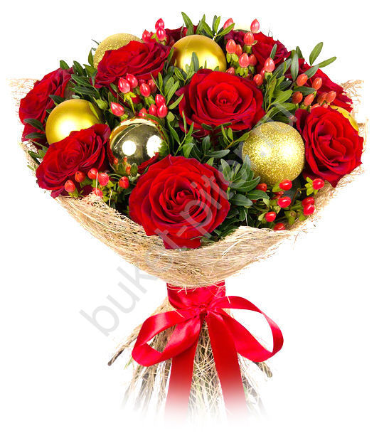 Букет «Новогоднее настроение» подарить
