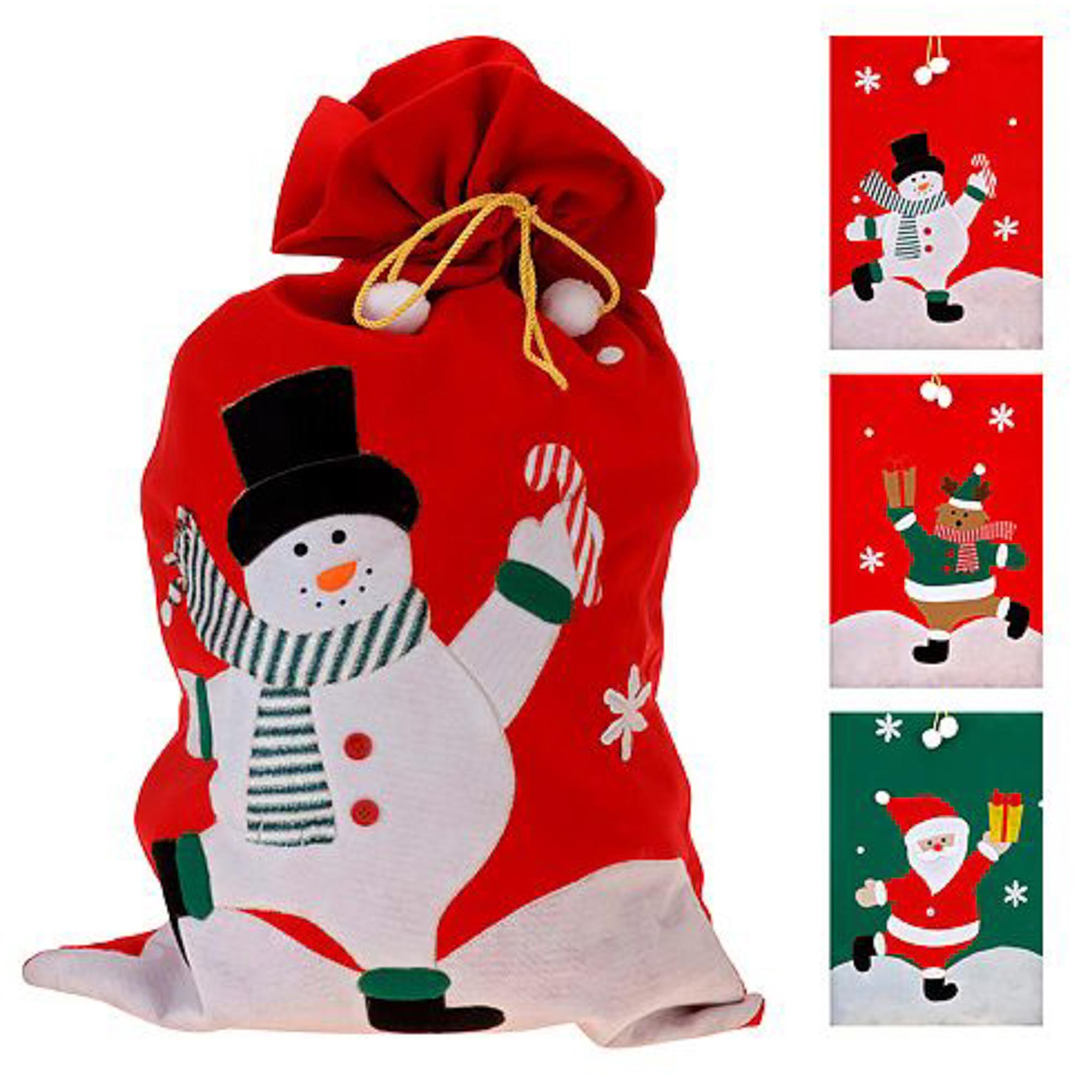 Мешок для подарков Веселый Новый Год подарить