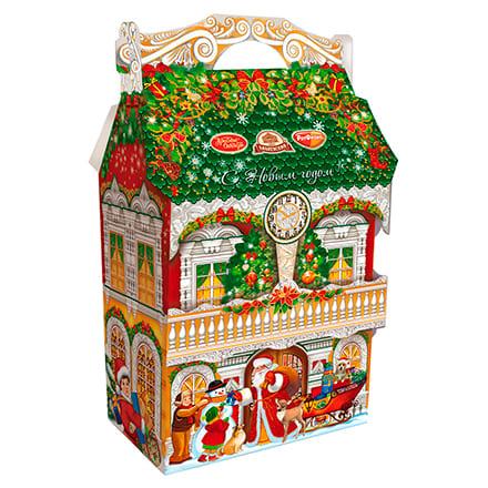 сладкие новогодние подарки детям