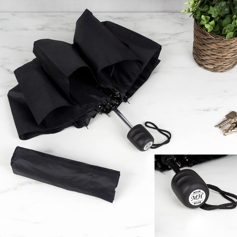 """Зонт """"Black"""" с гравировкой подарить"""