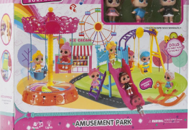 """Игровой набор  """"Парк развлечений"""" подарить"""