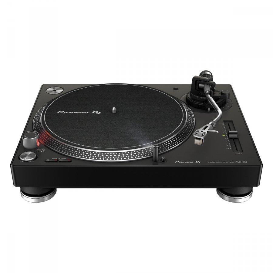 Проигрыватель виниловых дисков Pioneer PLX-500 Black подарить