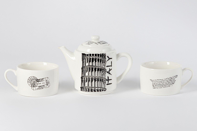 """Чайный набор на 2 персоны """"Италия"""" подарить"""